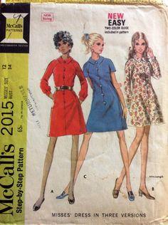 Raglan buttondown dress
