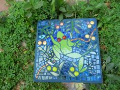 mosaic paver (frog) 2014 Lizzy A.