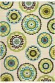Cabana Area Rug I - Patio Outdoor Rugs - Synthetic Rugs - Area Rugs | HomeDecorators.com in Brown