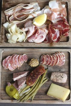 Charcuterie board at Olympic Provisions, Portland. Photo by Rosie Birkett