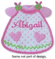 Applique Baby Dress - 2 Sizes! | Baby | Machine Embroidery Designs | SWAKembroidery.com Oma's Place