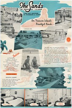The Sands of Treasure Island - Brochure: 11800 Gulf Blvd. St. Petersburg, Florida