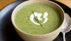 Zuppe veloci: zucchine aromatiche con zenzero e menta | Cambio cuoco
