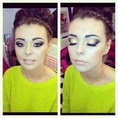 Hair + makeup !! <3