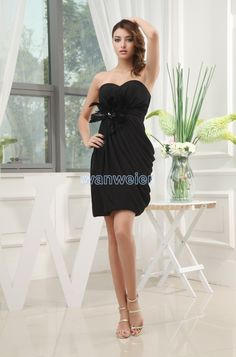 Buy draped mini column sweetheart little black cocktail dress with feather  from sexy cocktail dresses collection 523209edd