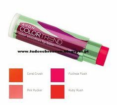Tudo sobre Avon: Novos Bálsamos ColorTrend