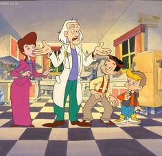 Back to the Future (the cartoon)- One of my many favorite cartoon shows based on popular movies of the late 80s and early 90s.  Other faves include Bill and Ted's Excellent Adventure, and of course, Ghostbusters.