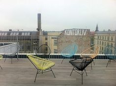 Taking a break from #KEAweek and kontorliv. Good to have rooftop terrace.