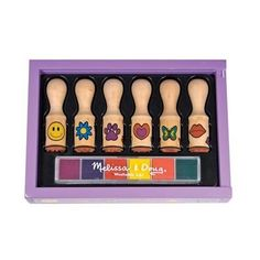 Melissa & Doug Deluxe Wooden Happy Handle Stamp Set by Melissa & Doug, http://www.amazon.com/dp/B000GIKZ4W/ref=cm_sw_r_pi_dp_goUkrb10B7XJT