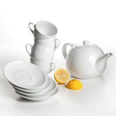 Loveramics - Organic White Tea Set via TasteCentral