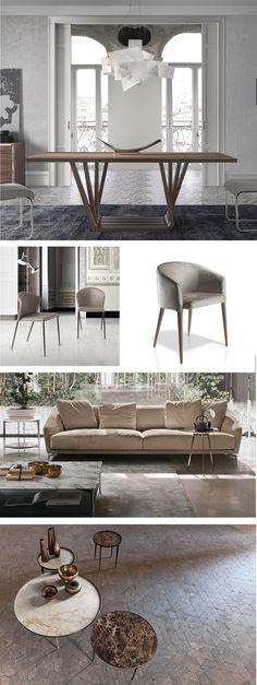 Ambiente de salón y comedor. combina muebles de diseño como este ...