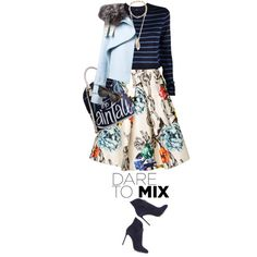 A fashion look from January 2015 featuring TIBI sweaters, Wes Gordon jackets and TIBI skirts. Browse and shop related looks.