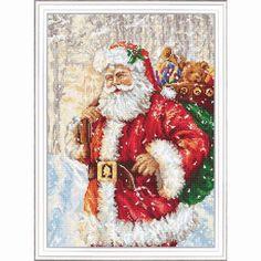 Luxe Cadeau Festif balises Christmas Cross Stitch Kit