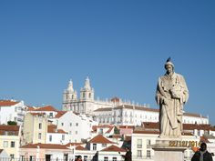 Lisboa, vista do Castelo de São Jorge Fotografia de Fernanda Sant`Anna do Espirito Santo e Clóvis do Espirito Santo Jr.