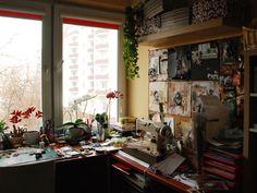 Artist studio of: Ania Dabrowska