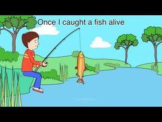 Nursery Rhyme - Once I caught a fish alive Join NurseryTracks on… Rhyming Preschool, Phonics Song, Alphabet Phonics, Rhyming Activities, Preschool Lesson Plans, Kindergarten Math, Counting Songs, Math Songs, Kids Songs