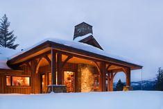 Mountain Architects: Hendricks Architecture Idaho – Managing Snow On Roofs