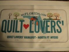 Quilt Hounds license plate | 2014 Row by Row Experience -Sew a ... : quilt lovers hangout - Adamdwight.com