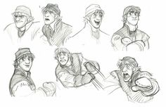 These are by jin kim, concept art for disney& movie frozen. Character Model Sheet, Character Modeling, Character Concept, Character Art, Animation Character, Disney Sketches, Disney Drawings, Cartoon Drawings, Disney Concept Art