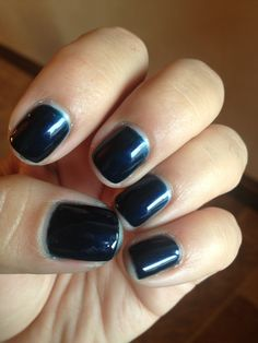 #SensatioNail gel nail polish #blueyonder is a great color for fall and winter @SensatioNail