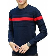 Men Fall Fashion Trim Trend Sweater  Fashion  Mens  Men  DeepBlue. Virginia  Bentley · Cardigans   Sweaters c887b2447