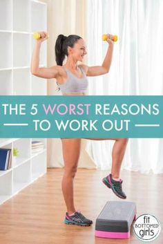 The five worst reasons to work out. (and five better ones!) Great workout reasoning from our friends at @fitbottemedgirls (plus a little humor. :))