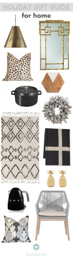 holiday gift guide 2015 // for home // via @simplifiedbee #homedecor #gifts