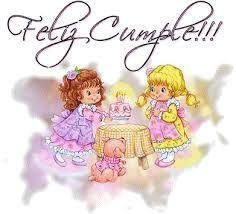 Resultado de imagen para imagenes de felicitacion de cumpleaños de angeles