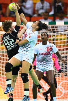 DAY 1:  Women's Handball - Montenegro vs Spain