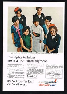 1969-Northwest-Airlines-Orient-7-Stewardess-Hostess-Vintage-Print-Ad