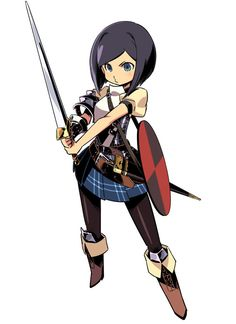 Landsknecht Female from Etrian Odyssey IV: Legends of the Titan