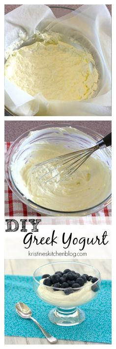 You won't believe how easy it is to make the thickest, creamiest homemade Greek yogurt!