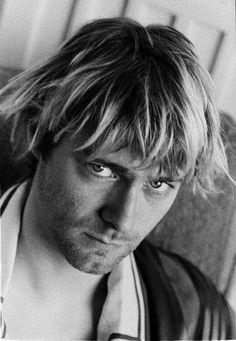 Kurt Cobain. Photo session for Spin magazine by Hansen Guzman. Los Angeles, CA, US. September 1992.