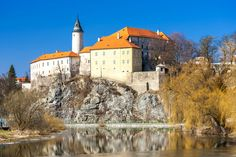 20 Most Beautiful Castles in the Czech Republic Beautiful Castles, Most Beautiful, Eastern Europe, Capital City, Czech Republic, Prague, The Locals, Cathedral, Stock Photos