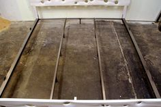 PacificDrift Bed with Head/Footboard by ModernDrift on Etsy