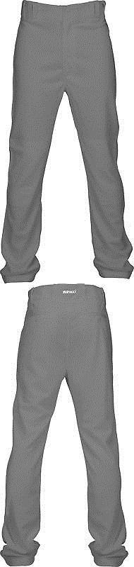 Baseball Pants 181349: Marucci Youth Performance Stretch Baseball Pant, Gray, Medium -> BUY IT NOW ONLY: $35.85 on eBay!