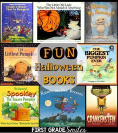Fun Halloween Picture Books with activities