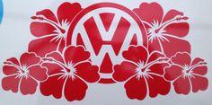 Volkswagen Hibiscus Flowers