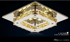 Chandeliers K9 Crystal LED 8W Modern/Contemporary LED / Bulb Included…