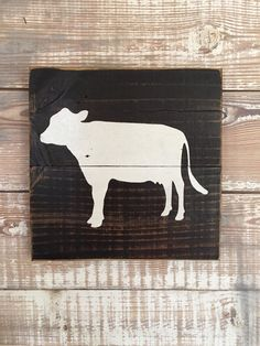 Farm animal signs hand painted wood kids nursery by CraftyRooster