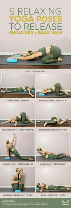 Fix rounded shoulders and back pain with these gentle, simple yoga poses. Do you get that & & get The post Fix rounded shoulders and back pain with these gentle, simple yoga poses. Fitness Workouts, Yoga Fitness, Fitness Tips, Health Fitness, Health Yoga, Physical Fitness, Fitness Band, Women's Fitness, Yoga Régénérateur