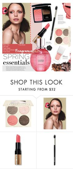 """""""In Bloom: Spring Perfume"""" by stacey-lynne ❤ liked on Polyvore featuring beauty, Chantecaille, COVERGIRL, Bobbi Brown Cosmetics, Laura Mercier and Givenchy"""