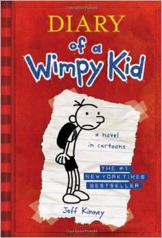 Jeff Kinney wrote and illustrated his own books.