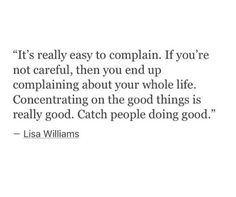 Catch people doing good
