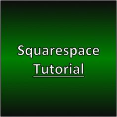 Squarespace Tutorial #squarespace #makemoneywithwebsites