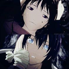 Yato and Hiyori, Noragami Anime Noragami, Manga Anime, Yato And Hiyori, Manga Art, Manga Love, Anime Love, Yatori, Animation, Anime Ships