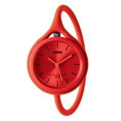 Via Garibaldi 12 - Vetrina on-line - Accessori personali - Lexon - Take Time - orologio Red watch