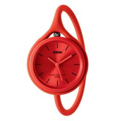 Via Garibaldi 12 - Vetrina on-line - Accessori personali - Lexon - Take Time - orologio Red watch