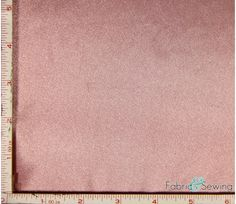 Dusty Pink Shiny & Dull Charmeuse Satin Fabric Polyester 5 Oz 58-60""