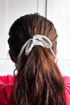 Crochet Hair Band Youtube : ... projects on Pinterest Finger Crochet, Finger Knitting and Fingers